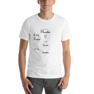 Master of Destiny short-Sleeve Unisex T-Shirt