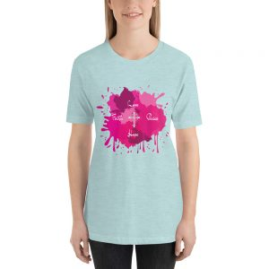 love faith peace Short-Sleeve Unisex T-Shirt