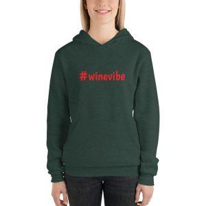 #winevibe Unisex hoodie