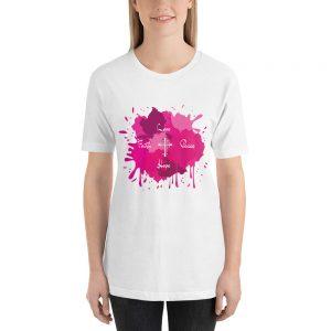 love faith peace Short-Sleeve Unisex T-Shirt