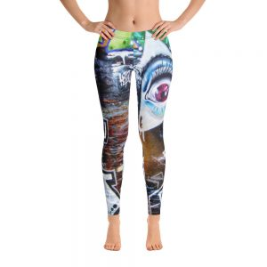 Urban Print Allover Leggings
