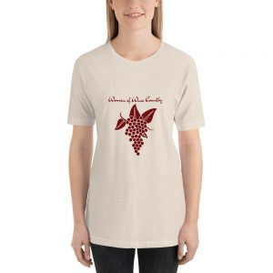 Women of Wine Grape Cluster Short-Sleeve Unisex T-Shirt