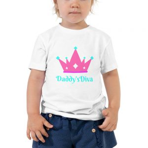 Daddy's Diva Toddler Short Sleeve Tee