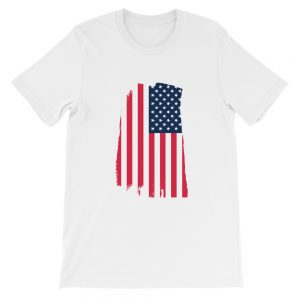 Tattered Flag Short-Sleeve Unisex T-Shirt