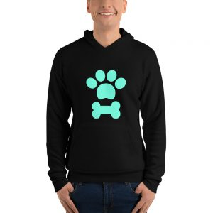Paw Bone Unisex hoodie