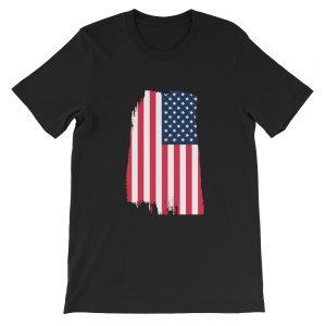 Tattered Flag Short-Sleeve Unisex T-Shirt