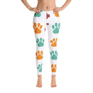 Paw and bone Leggings