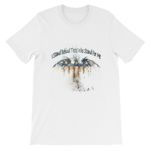 I Stand Short-Sleeve Unisex T-Shirt