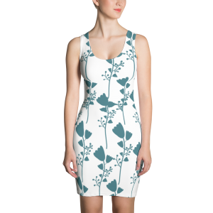 Gorgeous French Inspired Sublimation Cut & Sew Dress
