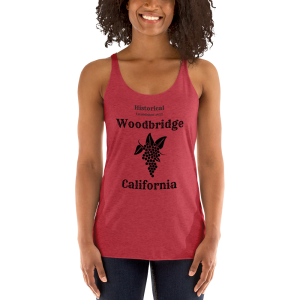 Historical Woodbridge Women's Racerback Tank