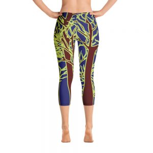 Blue Forest Capri Leggings