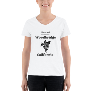 Historical Woodbridge Women's Casual V-Neck Shirt
