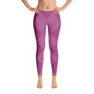 Purple Love Leggings