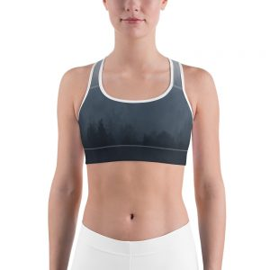 Shades of Grey Sports bra for the Lost Paradise Campaign