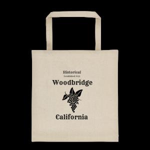 Dual Printed Historical Woodbridge Tote bag