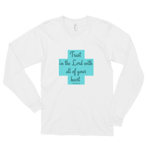 Trust Long sleeve t-shirt (unisex)