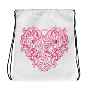 Love Wins Drawstring bag