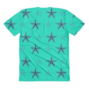 Starfish t-shirt Blue Body