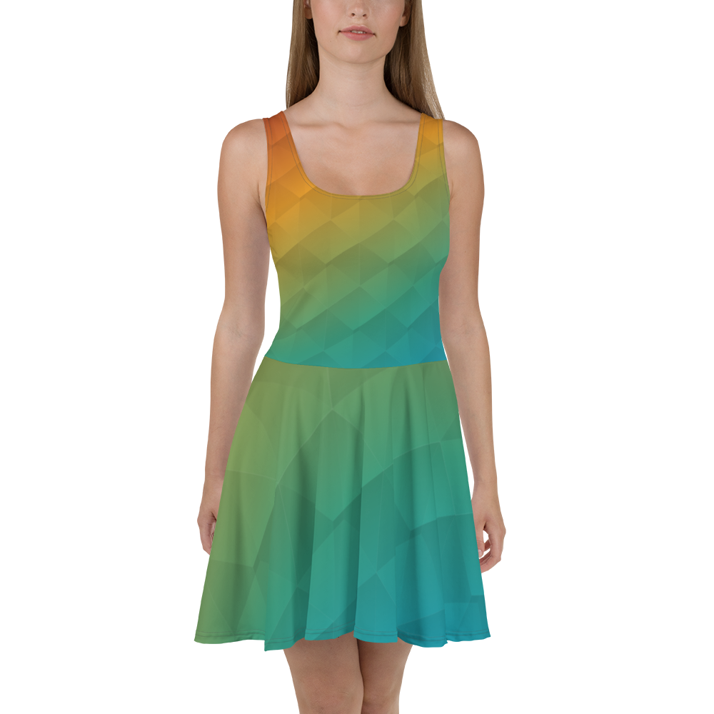 Prism Skater Dress for our Blue Body Campaign