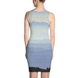 Misty Mountains Sublimation Cut & Sew Dress