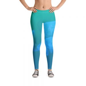 Jellyfish Leggings Blue Body