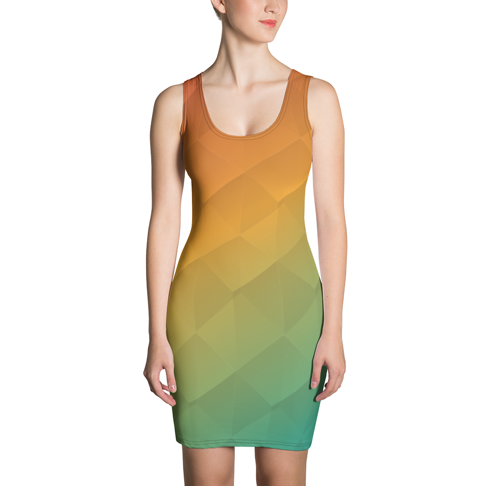 Prism Sublimation Cut & Sew Dress for the Blue Body Campaign