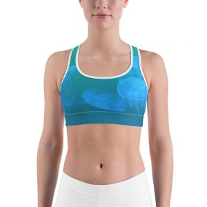 Jellyfish Sports bra Blue Body
