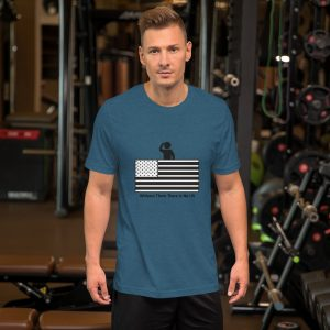 Veterans Short-Sleeve Unisex T-Shirt for the Stars and Stripes campaign