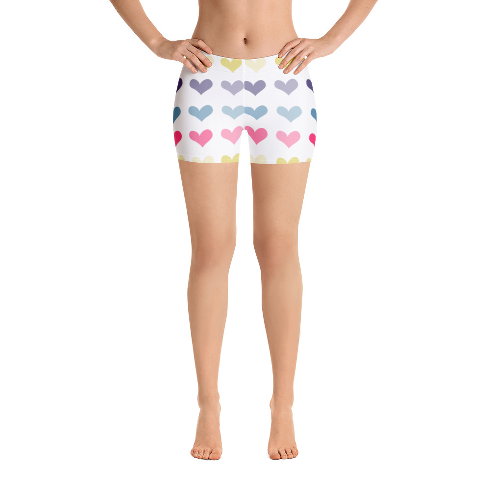 Hearts Shorts for the Fur baby Campaign