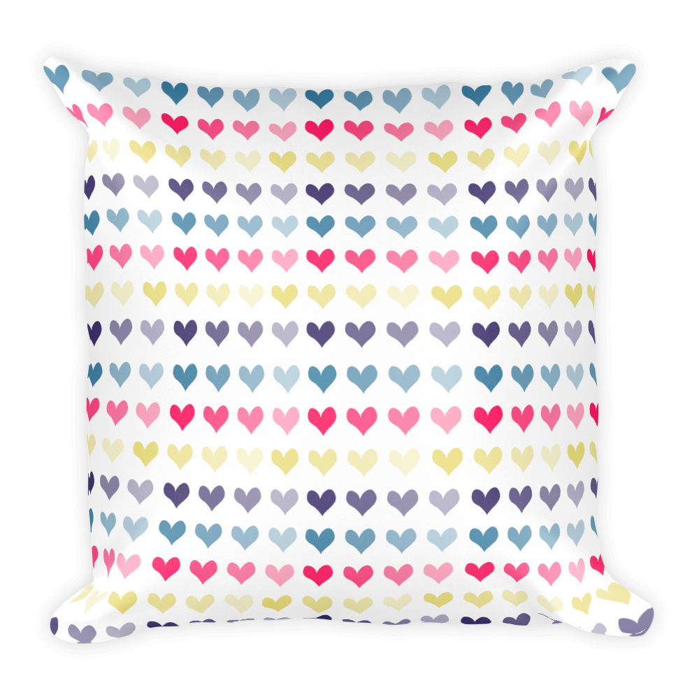 Hearts Basic Pillow for the Fur Baby Campaign