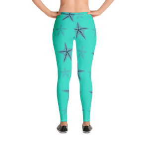Starfish Leggings Blue Body Campaign