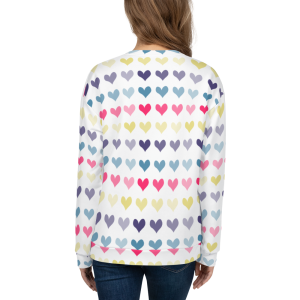 Hearts Unisex Sweatshirt for the Fur Baby Campaign