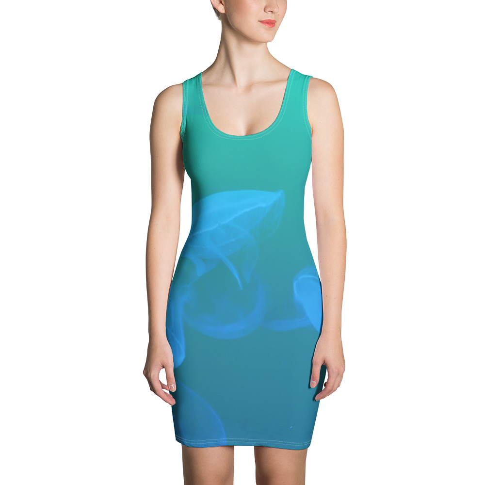 Jellyfish Dress Blue Body