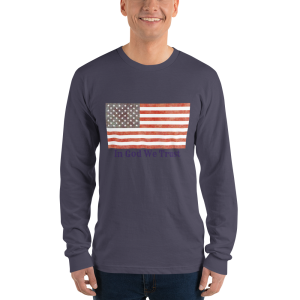 Trust Long sleeve t-shirt (unisex) for the Stars and Stripes Campaign