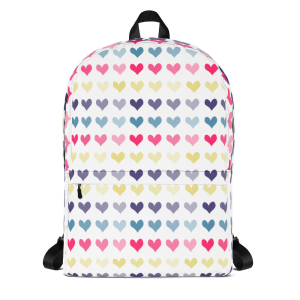 Hearts Backpack for the Fur Baby Campaign