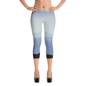 Misty Mountains Capri Leggings