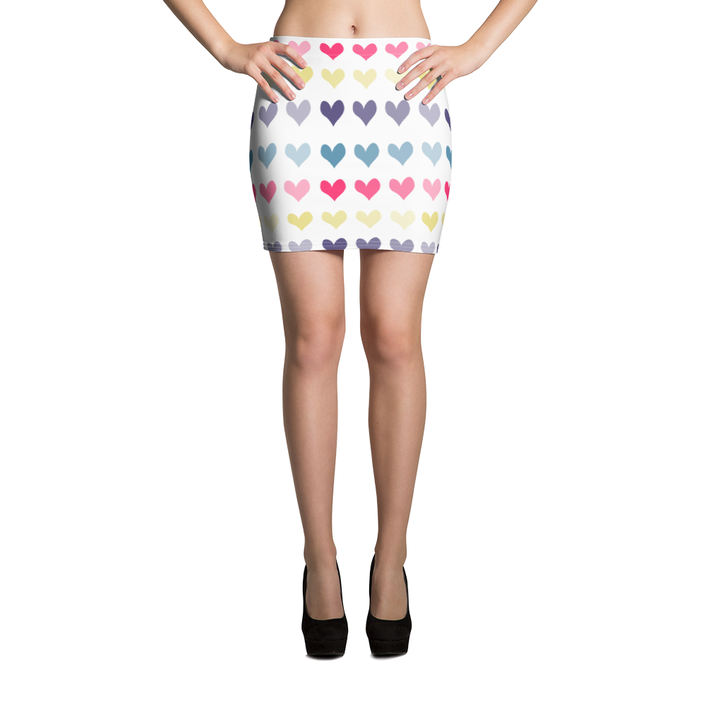 Hearts Mini Skirt for the Fur Baby Campaign