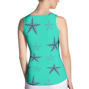 Starfish Tank Top Blue Body