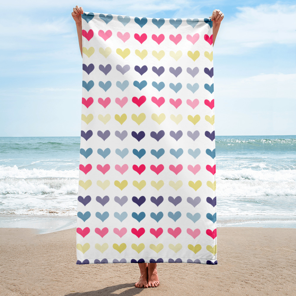 Hearts Towel for the Fur Baby Campaign