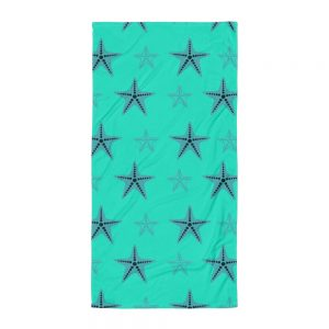Starfish Towel Blue Body