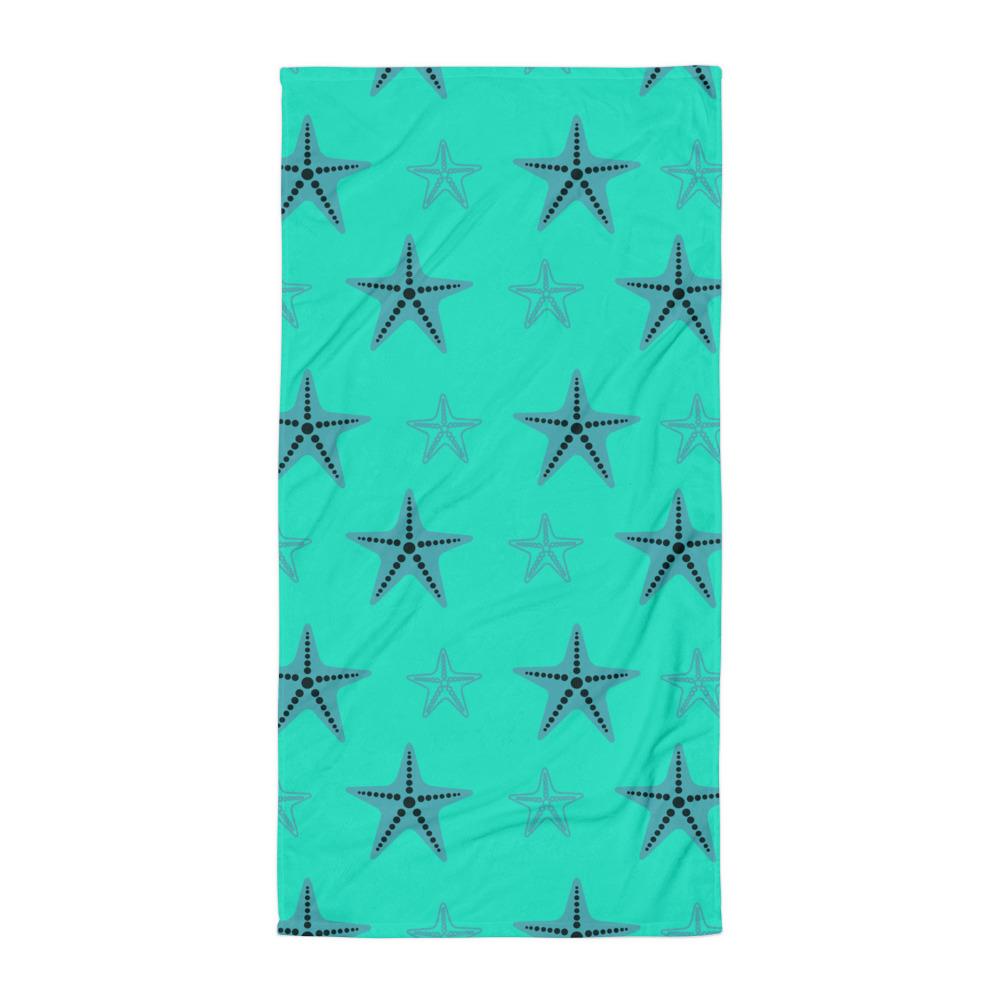Starfish Towel Blue Body