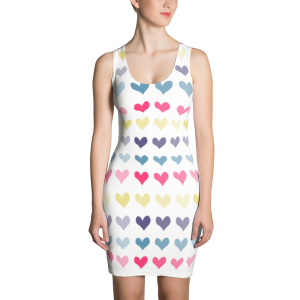 Hearts Sublimation Cut & Sew Dress for the Fur Baby Campaign