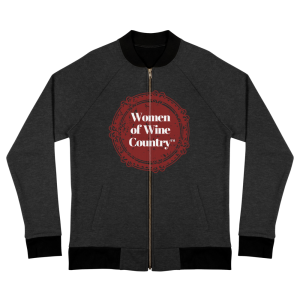 Women of Wine Country Next Level 9700 Bomber Jacket