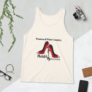 Women of Wine Country Murder and Mayhem Ladies Tank Top