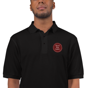Men of Wine Country Embroidered Polo Shirt
