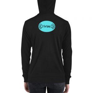 Unisex zip hoodie Fur Baby