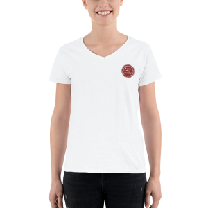 Women of Wine Country Women's Casual V-Neck Shirt