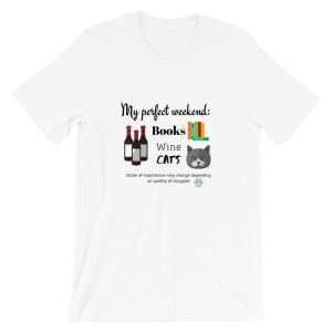 My Perfect Weekend Cats Short-Sleeve Unisex T-Shirt