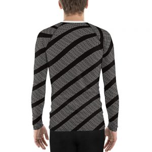 "Men's Rash Guard ""If you can read this you're too close"